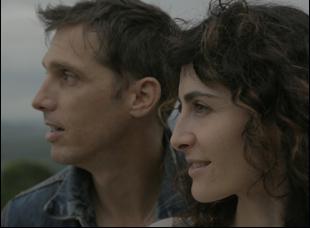 "Daniel Ahearn and Jessica Kaye in ""Inheritance"""