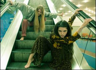 "Marta Mazurek and Michalina Olszanska in ""The Lure"""