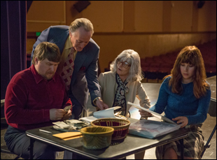 """Melissa Leo, Michael Chernus, Peter Fonda and Juno Temple in """"The Most Hated Woman in America"""""""