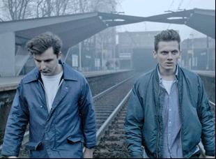 "Krzysztof Baginski and Michal Huszcza in ""All These Sleepless Nights"""