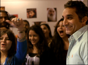 "Bassem Youssef in ""Tickling Giants"""