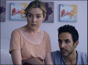 """Anna Margaret Hollyman and Amir Arison in """"20 Weeks"""""""