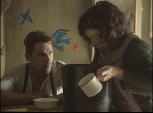 "Sally Hawkins and Ethan Hawke in ""Maudie"""