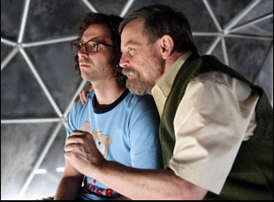 "Mark Hamill and Kyle Mooney in ""Brigsby Bear"""