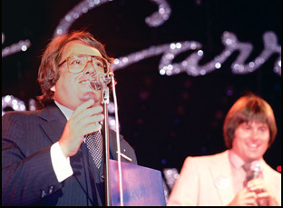 """Allan Carr and Bruce Jenner in """"The Fabulous Allan Carr"""""""