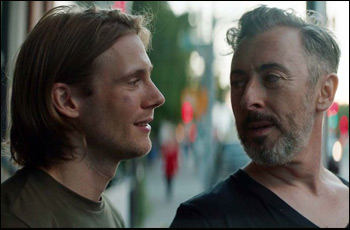 "Zachary Booth and Alan Cumming in ""After Louie"""