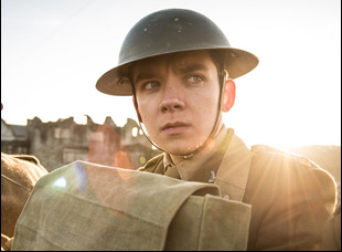 "Asa Butterfield in ""Journey's End"""