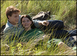 "George Mackay and Anya Taylor-Joy in ""Marrowbone"""
