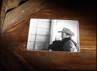 """Dennis Hopper in """"Along for the Ride"""""""