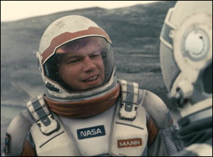 "Matt Damon in ""Interstellar"""