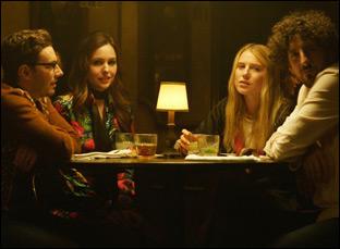 "Jorma Taccone, Dree Hemingway, Michelle Morgan in ""It Happened in L.A."""