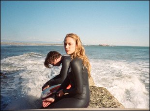 "Maika Monroe and Cody Fern in ""Tribes of Palos Verdes"""