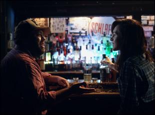 """Lena Hall and Dan Fogler in """"Becks"""""""
