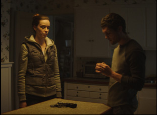 "Alex Essoe and Dylan McTee in ""Midnighters"""