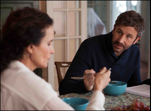 """Chris O'Dowd and Andie MacDowell in """"Love After Love"""""""