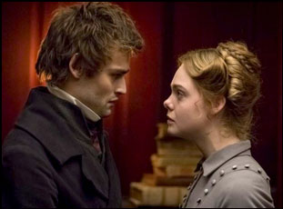 "Elle Fanning and Douglas Booth in ""Mary Shelley"""