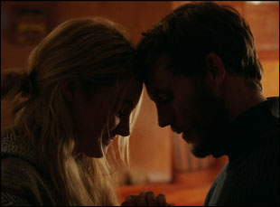"Shailene Woodley and Sam Claflin in ""Adrift"""