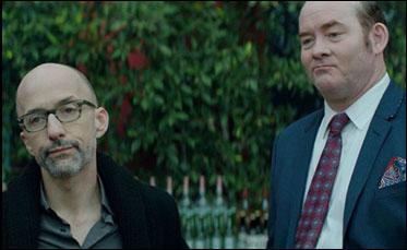 "Jim Rash and David Koechner in ""Bernard and Huey"""