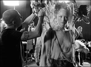 "A scene from Ian Bonhote and Peter Ettedgui's ""McQueen"""