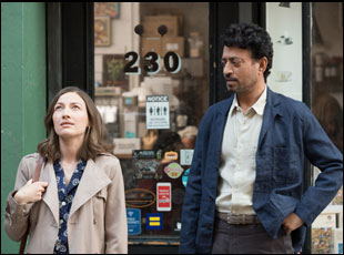 """Kelly Macdonald and Irrfan Khan in """"Puzzle"""""""