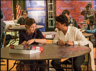 "Irrfan Khan and Kelly Macdonald in ""Puzzle"""
