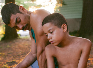 "Raul Castillo and Evan Rosado in ""We the Animals"""