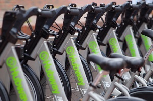 Hubway delivers healthy transportation in the Boston area.