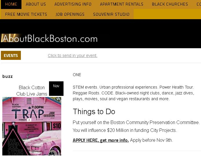 Black Boston Commons