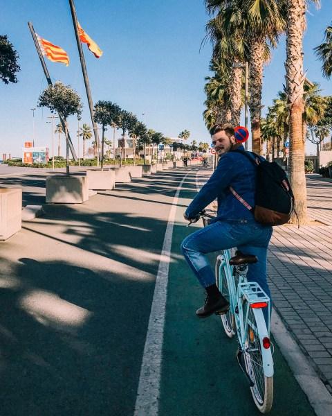 itinerario in bici valencia inverno gennaio move4ward travel blog di viaggio