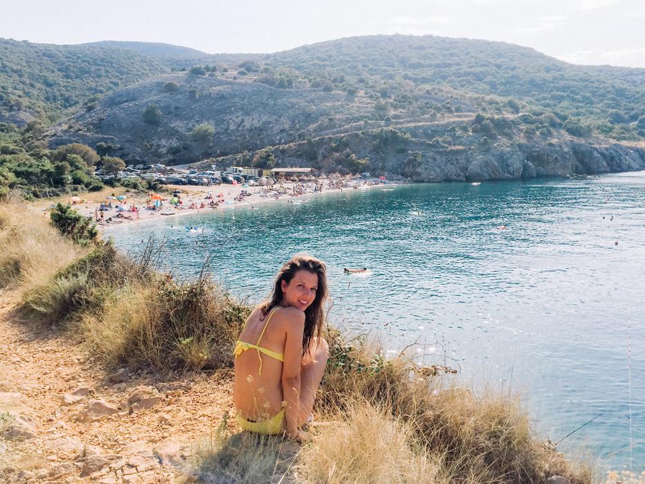 potovosce spiaggia krk croazia
