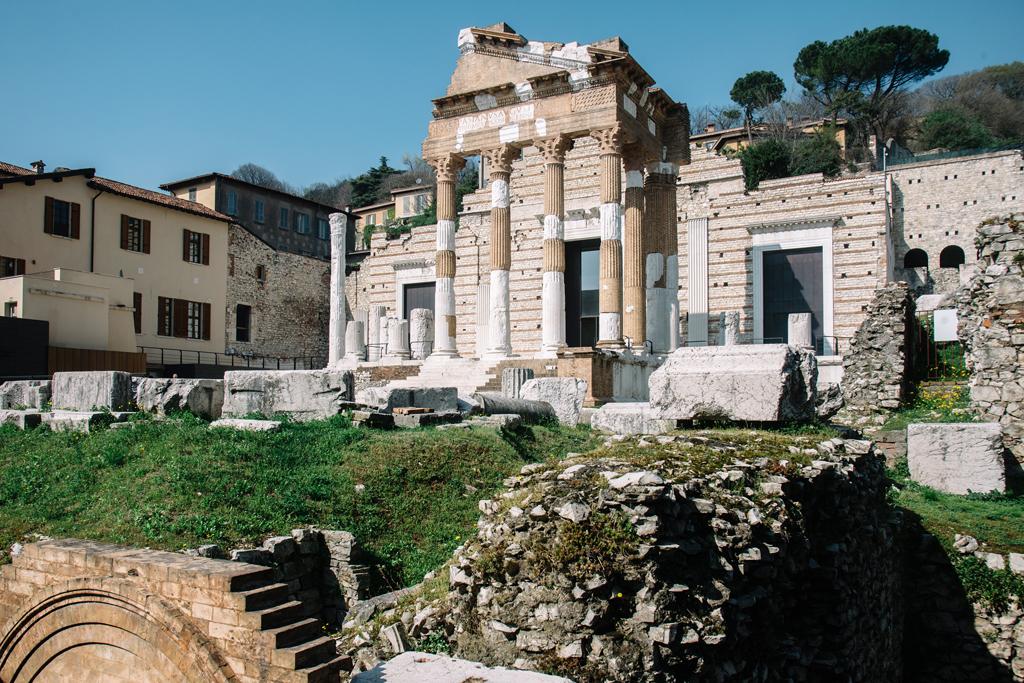 capitolium brescia cosa vedere parco archeologico brixia romana blog di viaggio