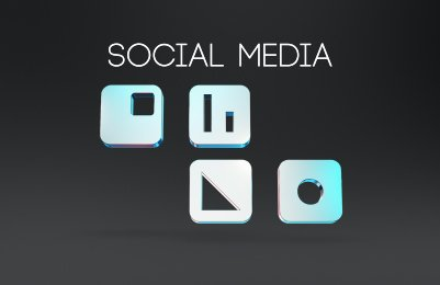 social media, icons, motion graphics, animated,