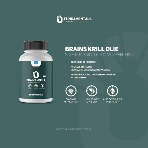 Fundamentals Brains-Krill-Olie Astaxanthine