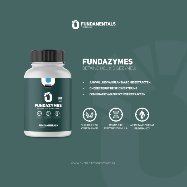 Fundamentals Fundazymes Betaine HCL & Digezyme