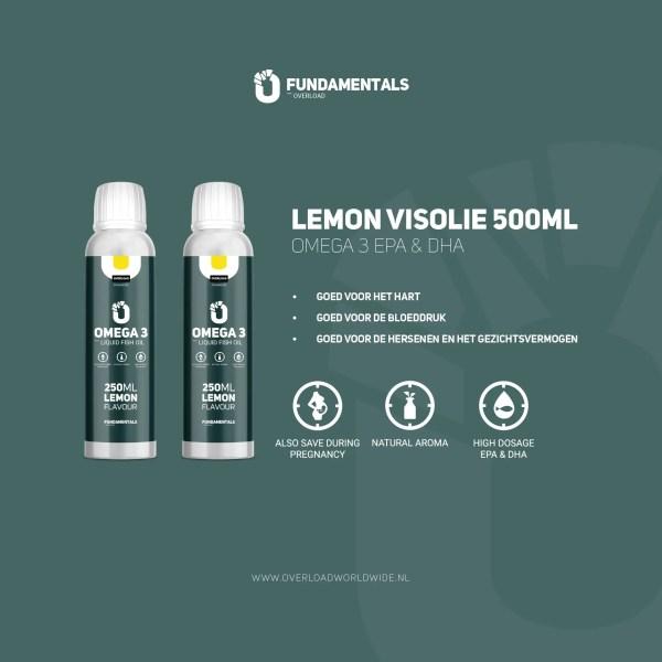 Fundamentals Lemon Omega-3 Visolie