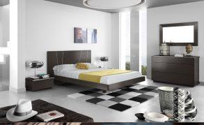 Quarto de Casal em carvalho wenguê com estrado elevatório. Transforme o seu quarto num Quarto de Sonho!