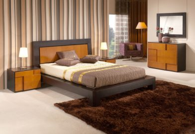 Quarto Casal em cerejeira e carvalho wenguê. Transforme o seu quarto num Quarto de Sonho!