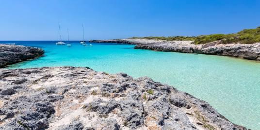 coast of menorca