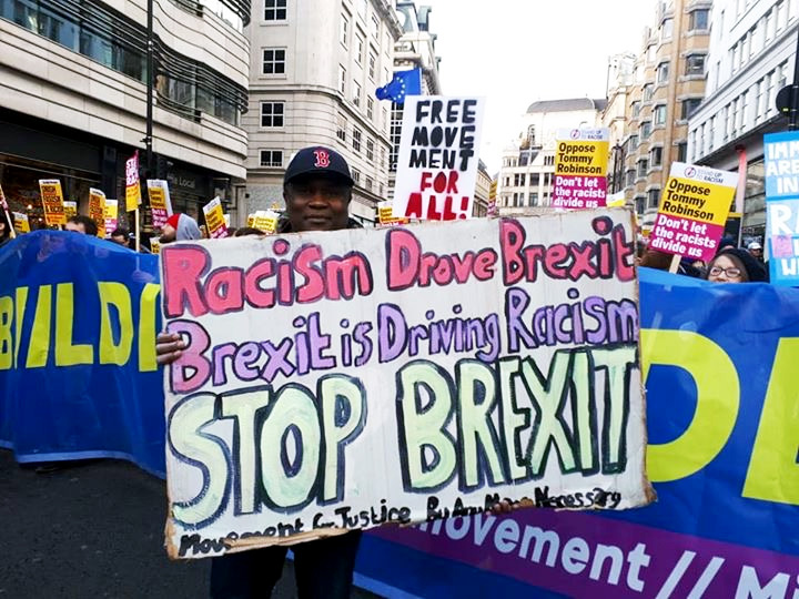 Defend Free Movement of People - Stop Racist Brexit!