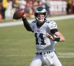 Eagles at Redskins 9/10/17