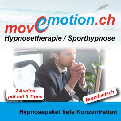 Hypnose Audio - Hypnosepaket tiefe Konzentration