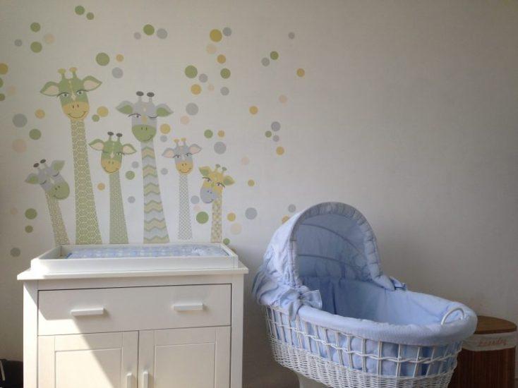 Wandsticker für das Babyzimmer