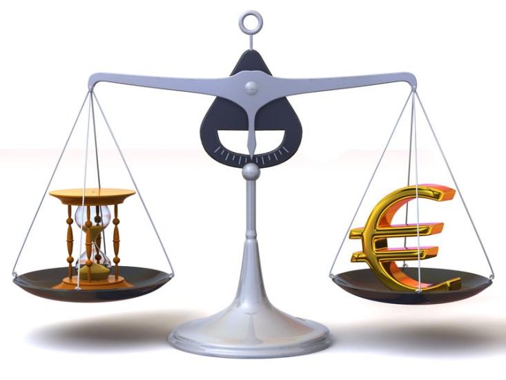 Zeit vs. Geld