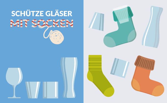 Glas verpacken