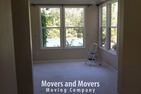 Picture of Movers and Movers emptied the house and ready to go to new location