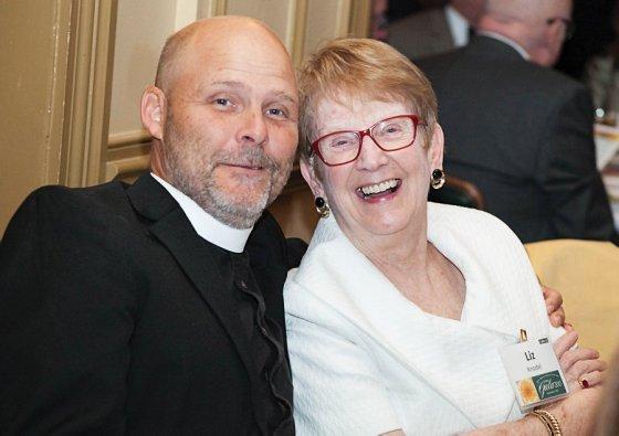 The Rev. Jason Leo and Liz Knode