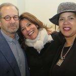 Jim Miller, steering committee member Lauren Chesley and Nikki Bolden