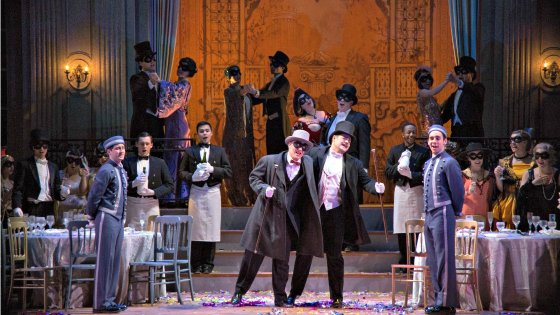 Die Fledermaus (Photo: IU Jacobs School of Music)
