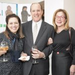 Dr. Evelyn Joseph, William Borek and Vicky Reynolds