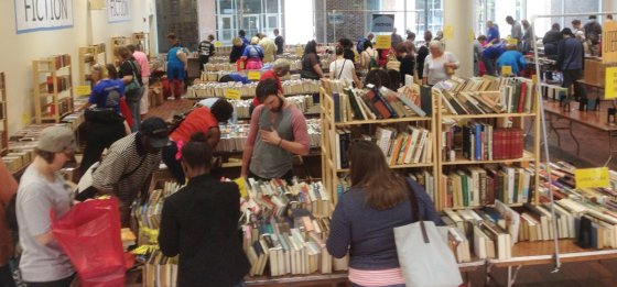 Friends library sale